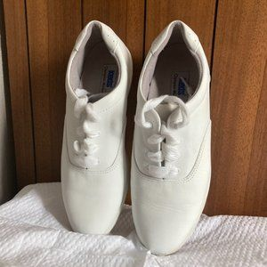 Keds Shoes - White Leather Keds